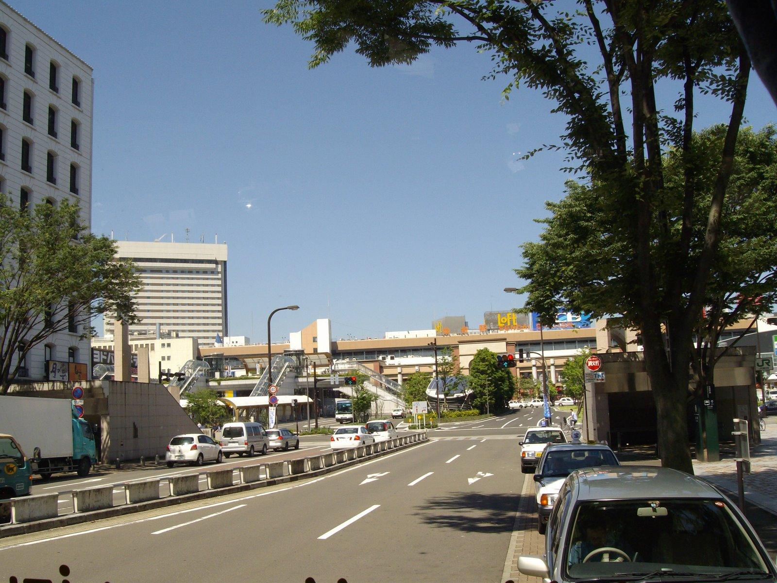Arrivée a Sendai!