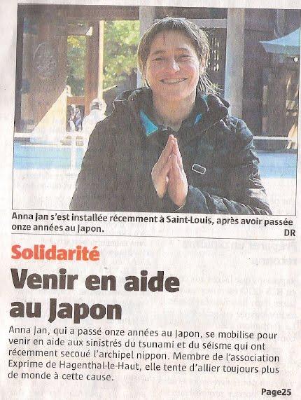Une aide précieuse pendant la foire internationale de Rennes