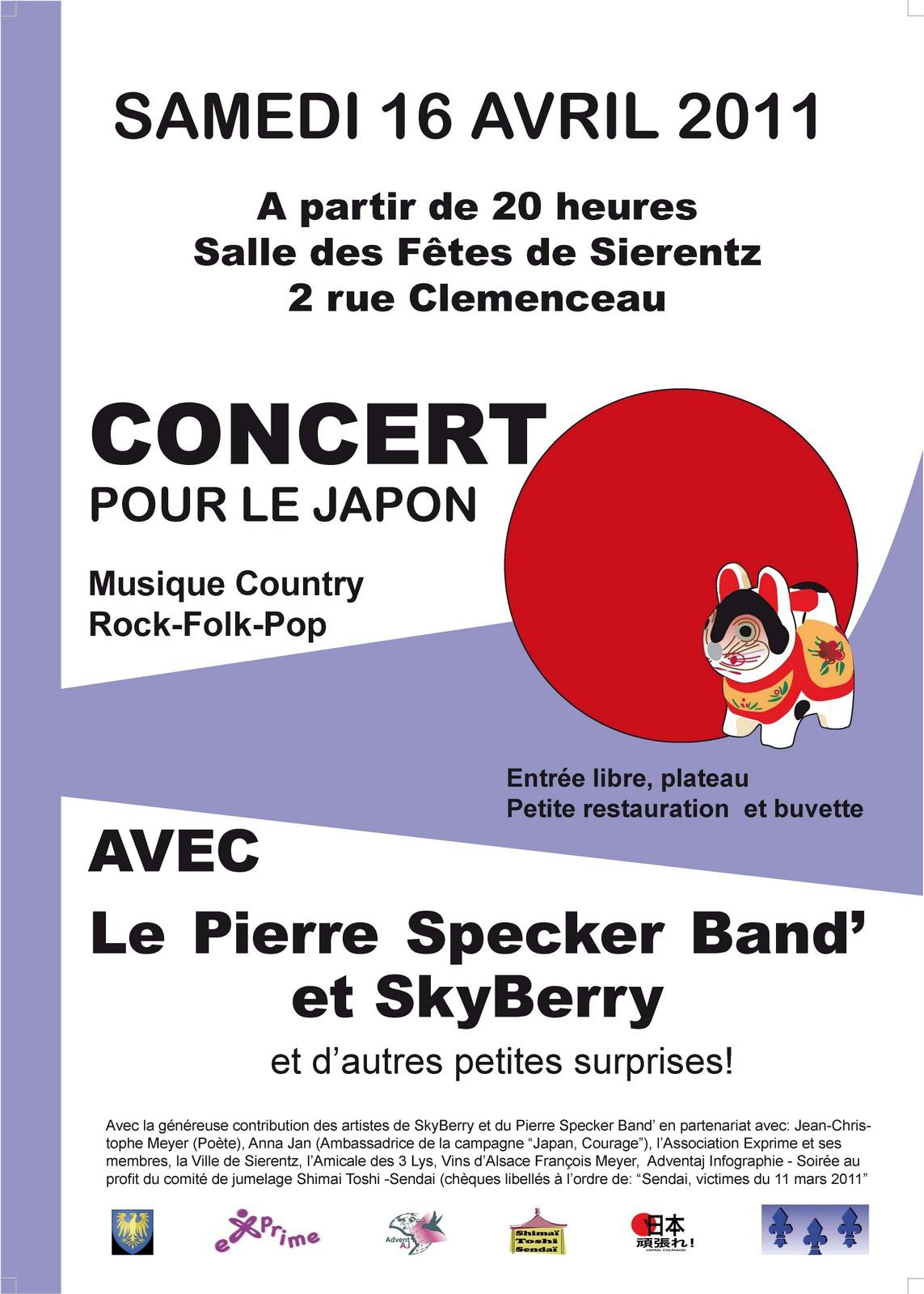 Concert de soutien à Sierentz