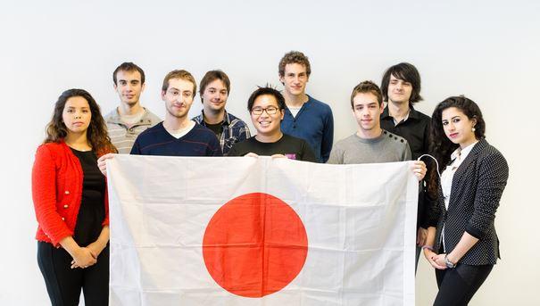 Toile de messages de soutien pour Sendai (Projet de Jap'and Trégor)
