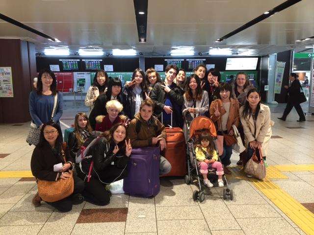 Séjour à Sendai des lycéens du Lycée St-Martin à Rennes