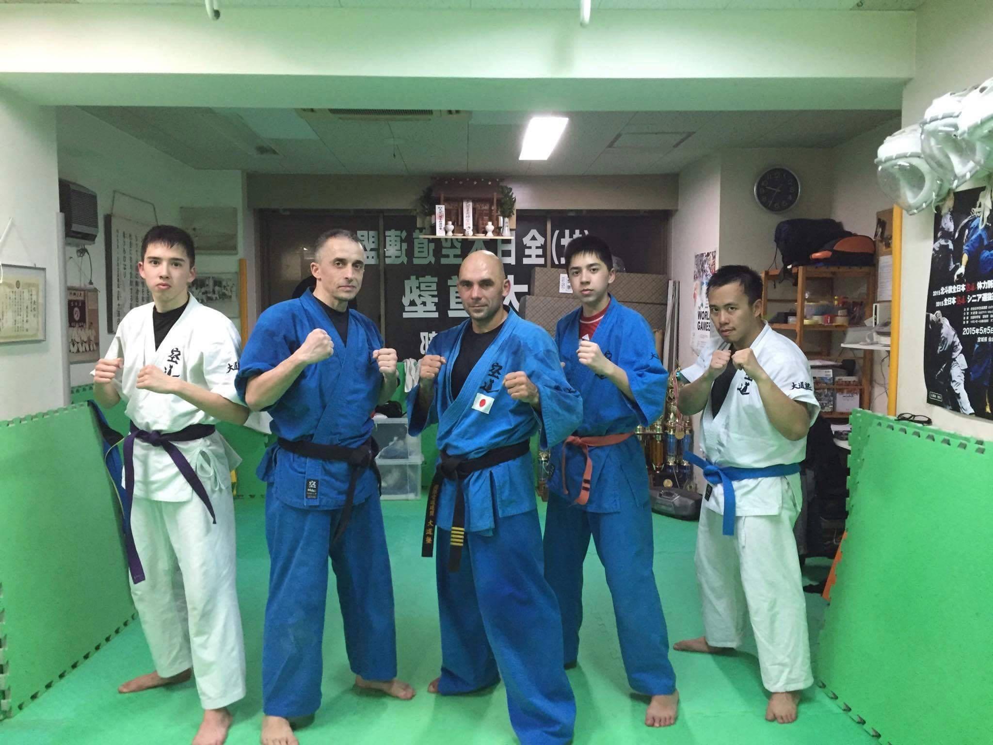 Echanges sportifs Rennes Sendai (Arts martiaux) : Association KUDO Rennes à Sendai !